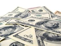 Background of american dollars Stock Images