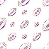 Background for American football. Ball Stock Image