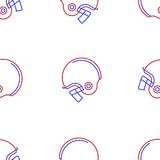 Background for American football helmet Stock Photo