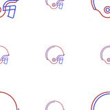 Background for American football helmet Royalty Free Stock Images