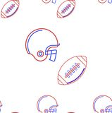 Background for American football Stock Photography