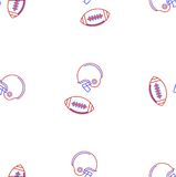 Background for American football Royalty Free Stock Image
