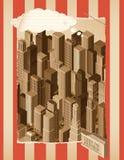Background&paper life- urbano Imagen de archivo
