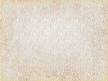 Background ancient arabian beige ornament. seamless pattern. pattern generated in computer. Royalty Free Stock Photos