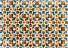 Background ancient arabic pattern. pattern generated in the computer Stock Photo