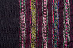 Background of the ancient homespun woolen Royalty Free Stock Image
