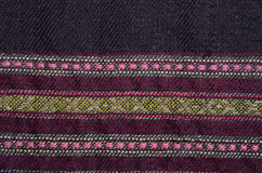 Background of the ancient homespun woolen Stock Photography