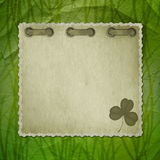 Background with ancient ornament for St. Patrick's Royalty Free Stock Image