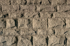 Background of ancient stone brick wall Stock Images