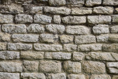 Background - Ancient Stone Wall Royalty Free Stock Photos