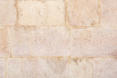 Background of ancient wall in stone Royalty Free Stock Photography