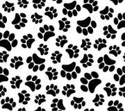 Background animal footprints seamless pattern Royalty Free Stock Photography