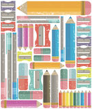 Background for announcements, stationery and scrapbooks. Vector image Royalty Free Stock Images