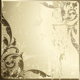 Background antique. Design of a vector background in vintage style Stock Photo