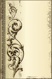 Background antique. Design of a vector background in vintage style Royalty Free Stock Photo