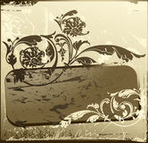 Background antique. Design of a vector background in vintage style Royalty Free Stock Images