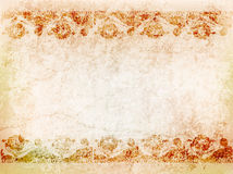 Background antique pattern on the ancient wall. illustration Stock Images