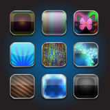 App icons-part 4 Stock Photography