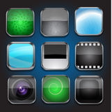 App icons-part 2 Royalty Free Stock Photography