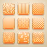 Background for the app icons Stock Photo