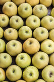 Apples. Background of Apples at street market Stock Image
