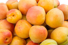 Background of the apricots Stock Image