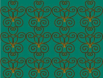Background aqua. Aqua background with an unusual pattern Royalty Free Stock Image