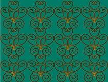 Background aqua. Aqua background with an unusual pattern Stock Illustration