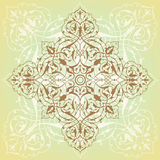 Background in Arabian style. Background with pattern in Arabian style Royalty Free Stock Photos