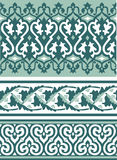 Background in Arabian style. Background with pattern in Arabian style royalty free illustration