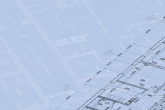 Background of architectural drawing Stock Photos