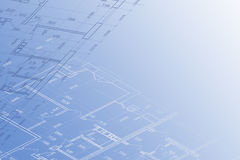 Background of architectural drawing Stock Images
