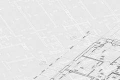 Background of architectural drawing Royalty Free Stock Photography
