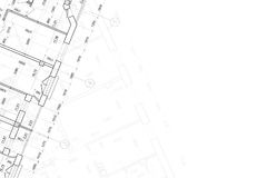 Background of architectural drawing royalty free stock images