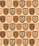 The background of arms beige Royalty Free Stock Image