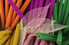Background of aromatherapy sticks Royalty Free Stock Photos