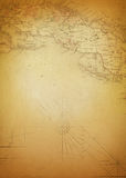 Background Art Ancient Map Stock Photos