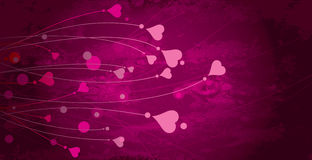 Background art heart Stock Photography