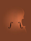 Background Art Violin Royalty Free Stock Photos