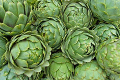 Background of artichokes Royalty Free Stock Photos