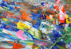 Background of artist palette Royalty Free Stock Photo