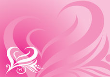 Background from artistic heart shape. Vector background from artistic heart shape Stock Illustration