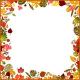 Background autumn frame Royalty Free Stock Photos