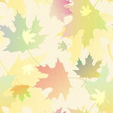 Background with autumn leaves. Air background with falling autumn leaves, illustration stock illustration