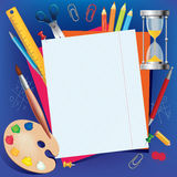 Background back to school Stock Image