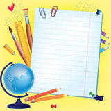 Background back to school Stock Photos