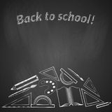 Background back to school. Royalty Free Stock Photos