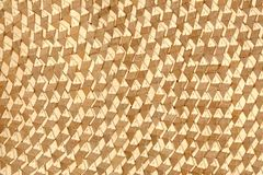 Close up dried plant grid patterns of an oriental lady hat royalty free stock photo