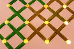 Background backlit holes Stock Photo
