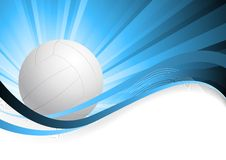 Background with ball Royalty Free Stock Photography